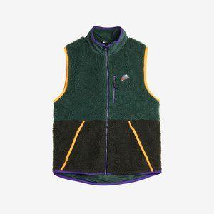 Nike Sportswear Sherpa Fleece Green Vest